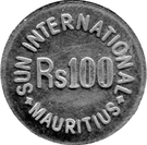 100 Rupees - Sun International Hotel – obverse