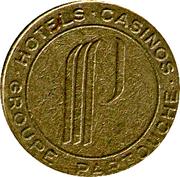 Token - Casino Le Mirage (2) – reverse