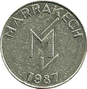 Token - La Mamounia Grand Casino – obverse