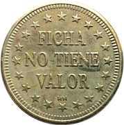 Token - Ficha No Tiene Valor (28.6 mm) – reverse