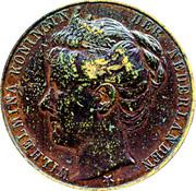 Medal - Wilhelmina (Inauguration 1898) – obverse