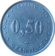 50 Cents - Casino Granville – reverse