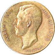 Token - Albert (Brussels International 1910) – obverse