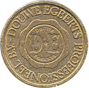 Coffee Machine Token - Douwe Egberts (Brass) – reverse