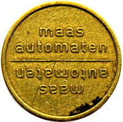 Vending Machine Token - Maas Automaten – obverse