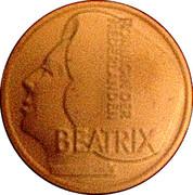 Beatrixcent – obverse
