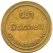 Token - Duchell 001 (No Cash Value; small stars) – obverse