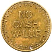 Token - Duchell 001 (No Cash Value; small stars) – reverse