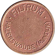 Vending Machine Token - Filtrum Hazerswoude (Rijndijk) – obverse