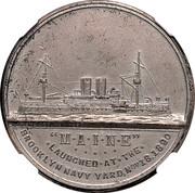 Dollar - U.S. Battleship Maine (Type I) – obverse
