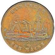 Dollar - U.S. Battleship Maine (Type II) – obverse