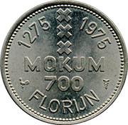 Florijn - Amsterdam (700 years) – reverse