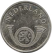 Token - PTT Post Nederland (20 Cent) -  reverse