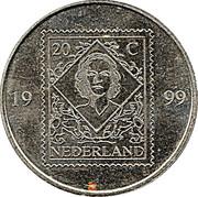 Token - PTT Post Nederland (20 Cent) -  obverse