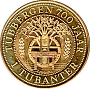 1 Tubanter - Tubbergen (700 Years) – obverse