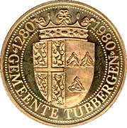 1 Tubanter - Tubbergen (700 Years) – reverse