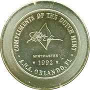 Royal Dutch Mint Token - ANA Show – reverse