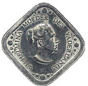 "5 Cents - Beatrix (Wilhelmina, ""Moeder des vaderlands"", Liberation) – obverse"
