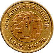 1 Amsterdammertje - Amsterdam (700 years) – reverse