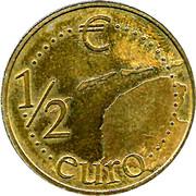 ½ Euro - Fryslan Simmerbarren -  reverse