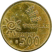 ½ Euro - Fryslan Simmerbarren -  obverse