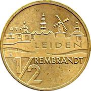 ½ Rembrandt - Leiden (400th Anniversary Rembrandt van Rijn) – reverse