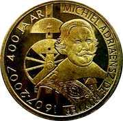 ½ Ruyter - Vlissingen (400th Anniversary Michiel de Ruyter) – obverse