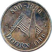 1 Doorntje - Doorn (1100 years) – reverse