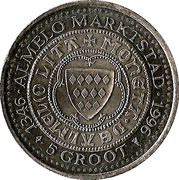 5 Groot - Almelo – obverse