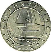 1 Porter - Rotterdam (650 years) – reverse