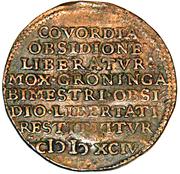Conquest of Groningen (Dordrecht) – reverse
