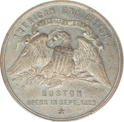 Dollar - American Exhibition of Foreign Products (Boston, MA) – obverse