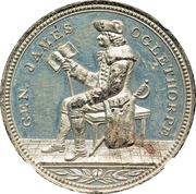 Dollar - Sesqui Centennial of the Settlement of Georgia – obverse