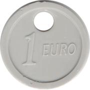 Shopping Cart Token - Jeton Ronis (1 Euro) – reverse