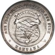 Dollar - Montana Silver Association (Helena, MT) – obverse