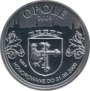 40 Denarów Opole – obverse