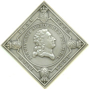 Squire klippe-medal / New Mint building – obverse