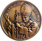 Token - Ioannes Paulus II – obverse