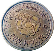 Fun House Amusement Token – obverse