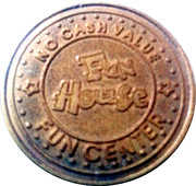 Fun House Amusement Token – reverse