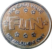 Fun Amusement Token – obverse