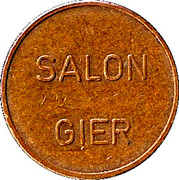 Token - Salon Gier – obverse