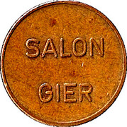 Token - Salon Gier – reverse