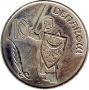10 Denarów - 2009 – reverse