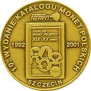 Token - 10th Anniversary Polish coins catalog (5 Złotych) – reverse