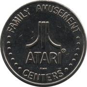 Arcade Token - Atari Family Amusement Centers – obverse