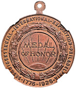 Dollar - U.S. Sesquicentennial Exposition in Philadelphia (Medal of Honor) – obverse