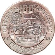 So-called-dollar - Oregon Statehood Centennial (Eugene) – obverse