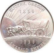 So-called-dollar - Oregon Statehood Centennial (Eugene) – reverse