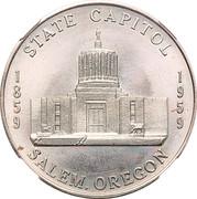 So-called-dollar - Oregon Statehood Centennial (Capitol Salem) – reverse